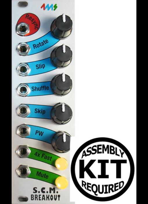 4ms SCMBO (Shuffling Clock Multiplier Breakout), Kit
