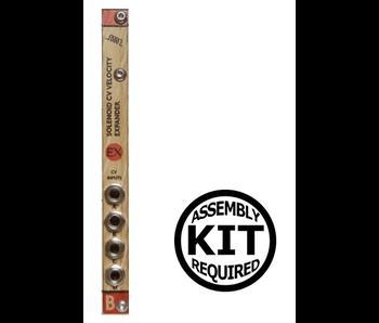 Bastl Instruments Solenoid Expander - Wood, Kit, BLOWOUT PRICING