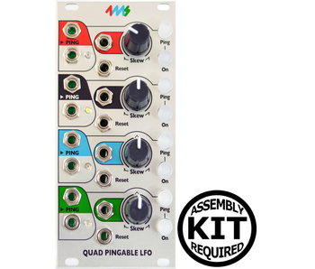 4ms QPLFO (Quad Pingable LFO), Kit