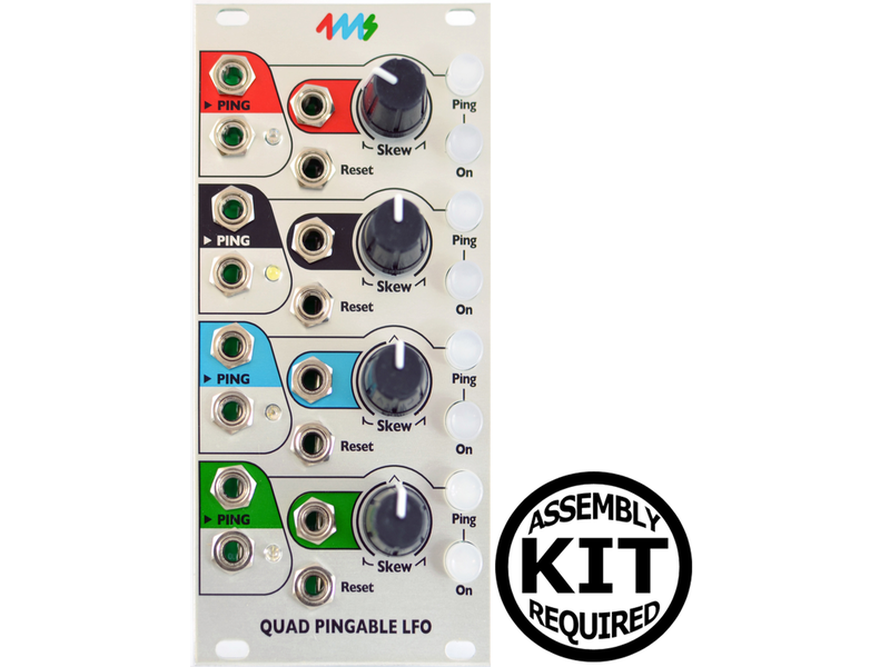 4ms QPLFO (Quad Pingable LFO), Kit