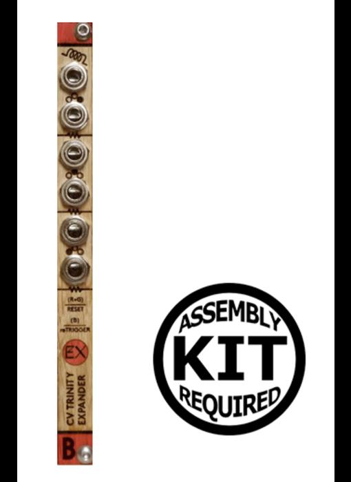 Bastl Instruments CV Trinity Expander - Wood, Kit, BLOWOUT PRICING