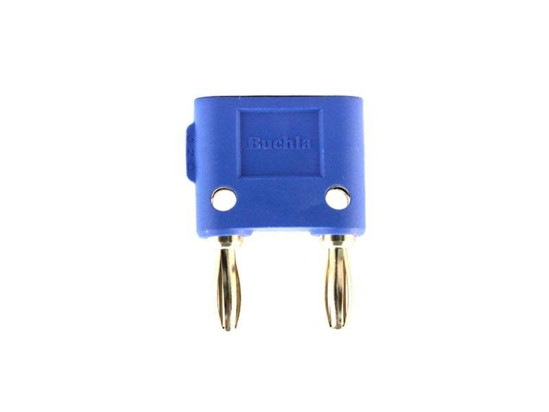 Buchla Banana Shorting Bar, Blue