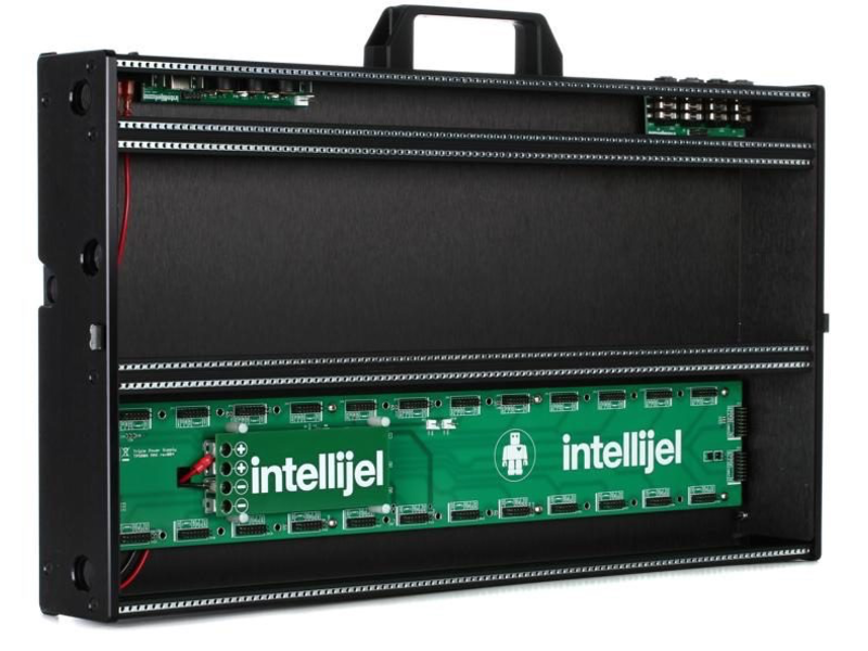 Intellijel 7U Performance Case, 104hp, Stealth Black, SPECIAL ORDER