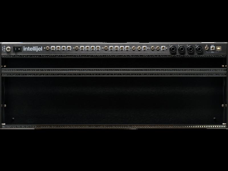 Intellijel Palette 104 4U, 104hp, Stealth/Black