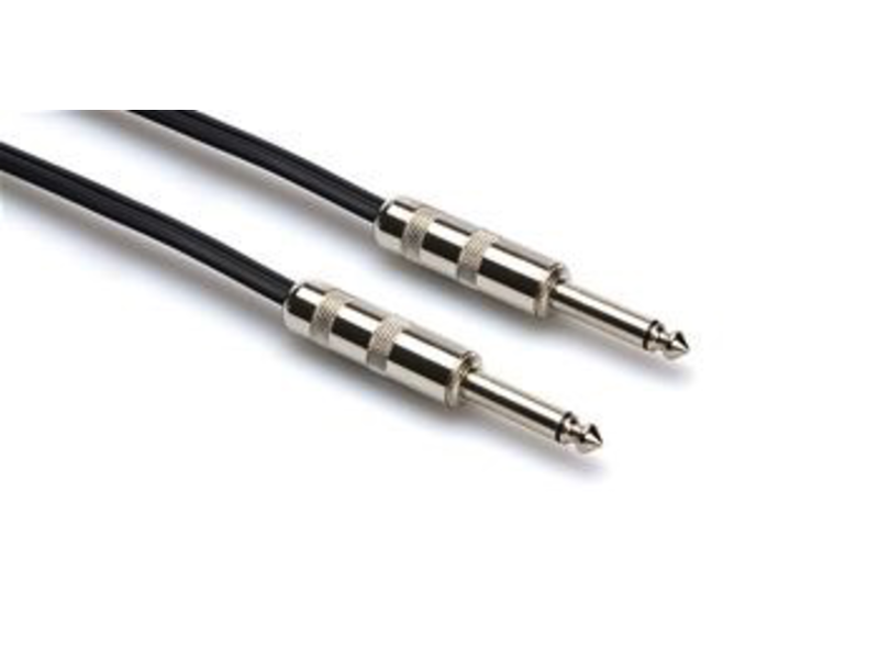 Hosa Speaker Cable, 16 Gauge, Black, 10ft