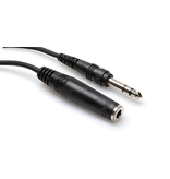 """Hosa Headphone Extension Cable, 1/4"""" to 1/4"""", 10ft"""