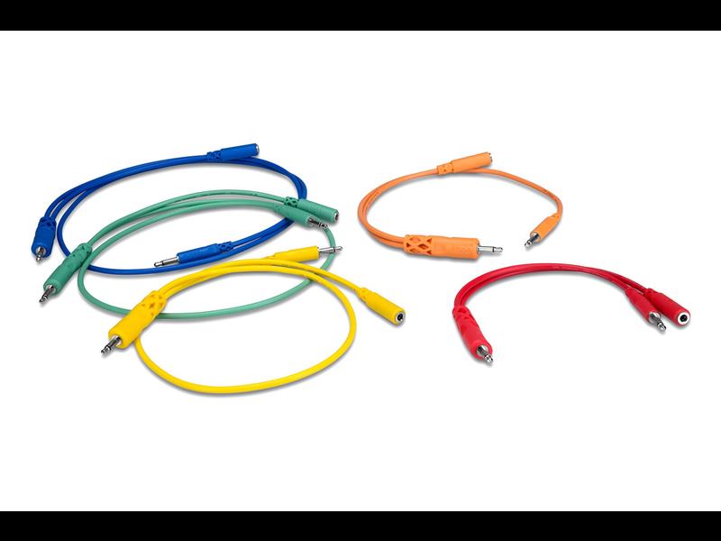 Hosa Hopscotch Cables (Various lengths), 5pk