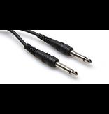 """Hosa Cable, 1/4"""" Mono, 1ft"""