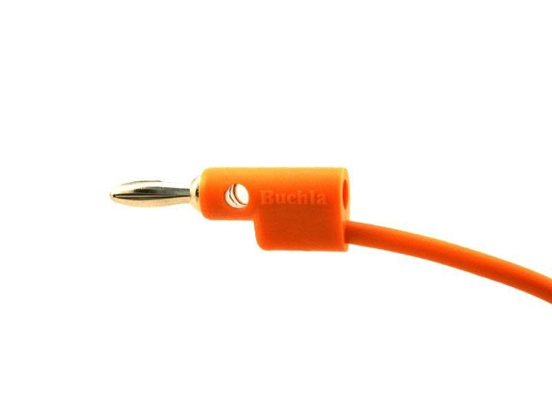 "Buchla Banana Cable, 10"", Orange"