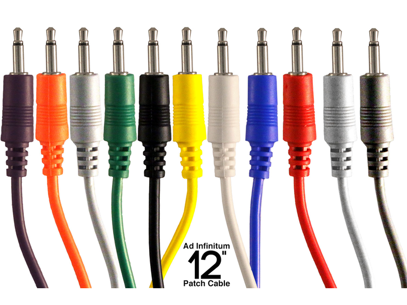 """Ad Infinitum 3.5mm Patch Cable, 12"""""""