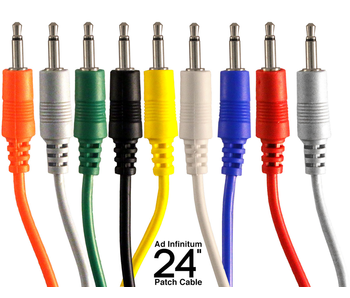 Ad Infinitum 3.5mm Patch Cable, 24""