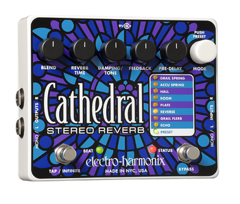 Electro Harmonix Cathedral Stereo Reverb, DEMO UNIT