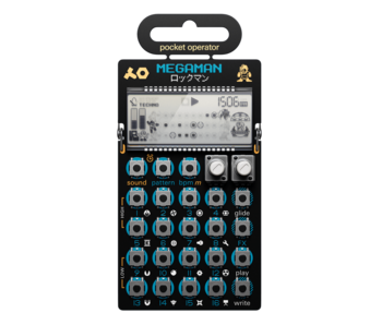 Teenage Engineering Pocket Operator PO-128 Mega Man