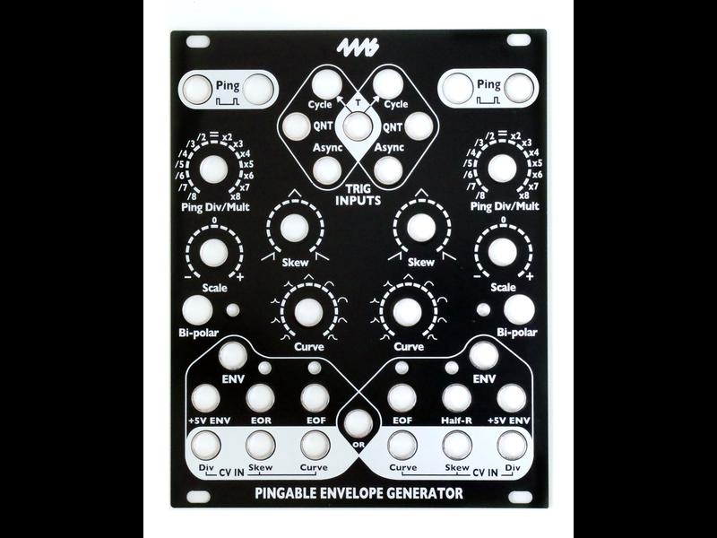 4ms PEG Faceplate - Black