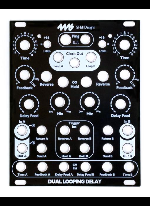 4ms DLD Faceplate - Black