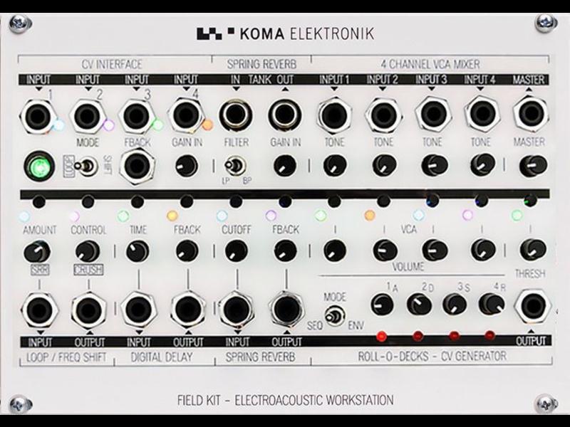 KOMA Field Kit FX Eurorack Panel