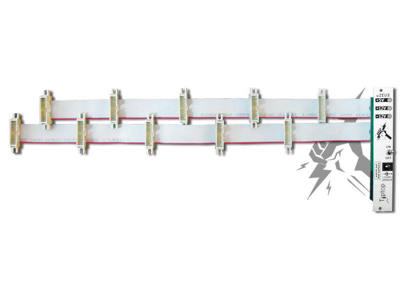 Tiptop Audio uZeus Power Module w/ Flying Busboard, USED