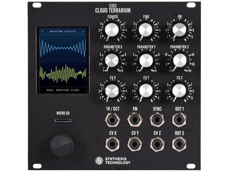 Synthesis Technology E352 Cloud Terrarium, Black