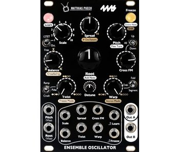 4ms Ensemble Oscillator, Black