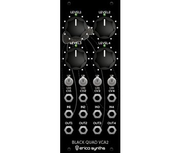 Erica Synths Black Quad VCA2