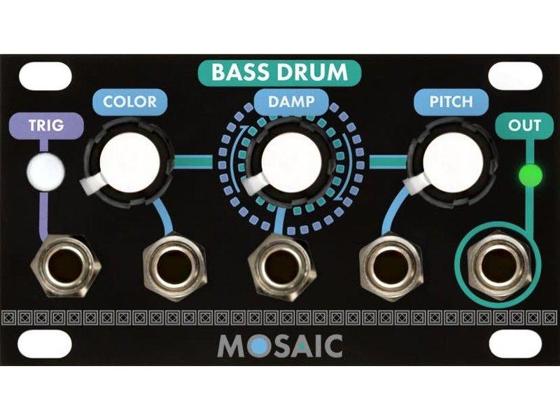 Mosaic Bass Drum