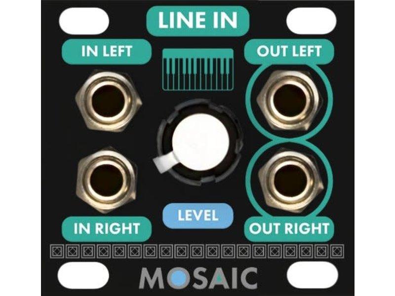 Mosaic Line Input