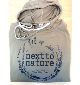 Olive Hoodie x Next to Nature