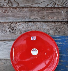 Flexible Flyer Steel Saucer: Red
