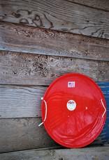 Flexible Flyer Steel Saucer: Red