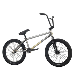 "Sunday Sunday EX 21"" Complete BMX Bike: Matte Raw"