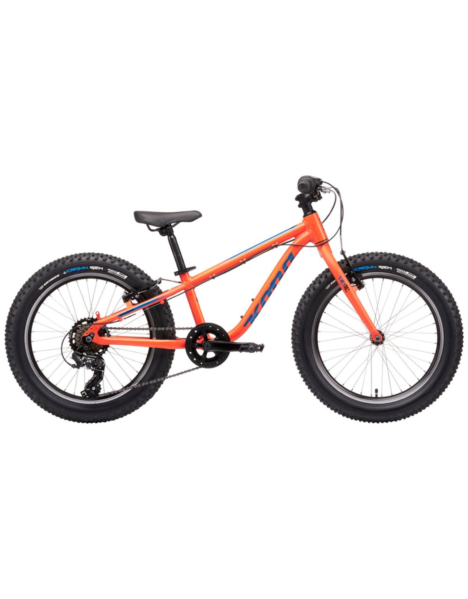 KONA Kona Makena Complete Bike: Matte Blood Orange
