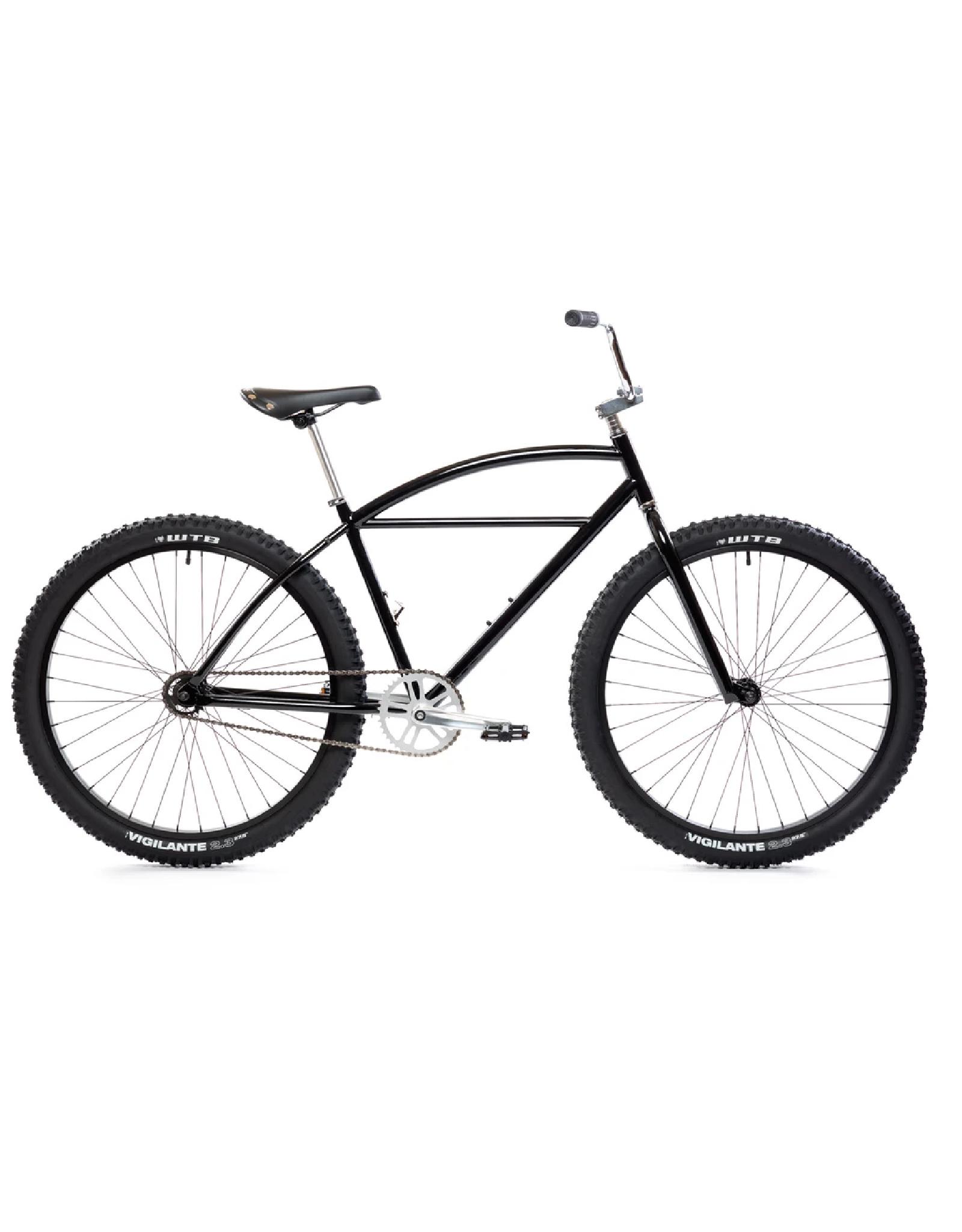 State Bicycle Co. State Klunker Complete Bike: Black