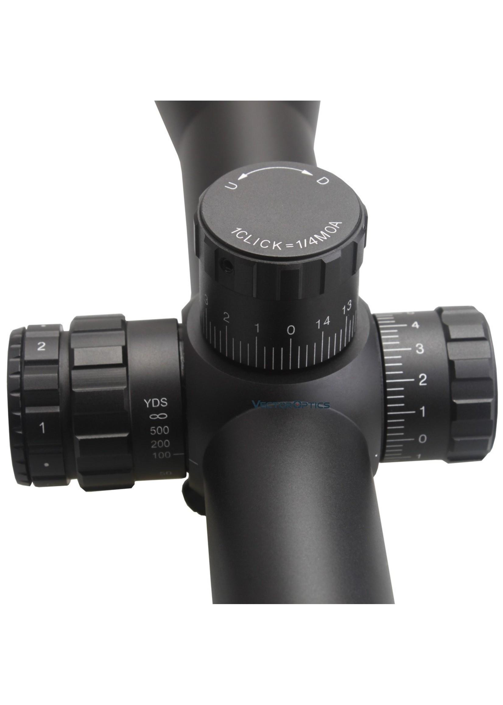 Vector Optics VectorOptics Tourex 6-24x50 FFP Tactical RifleScope/ MOA /ZeroStop