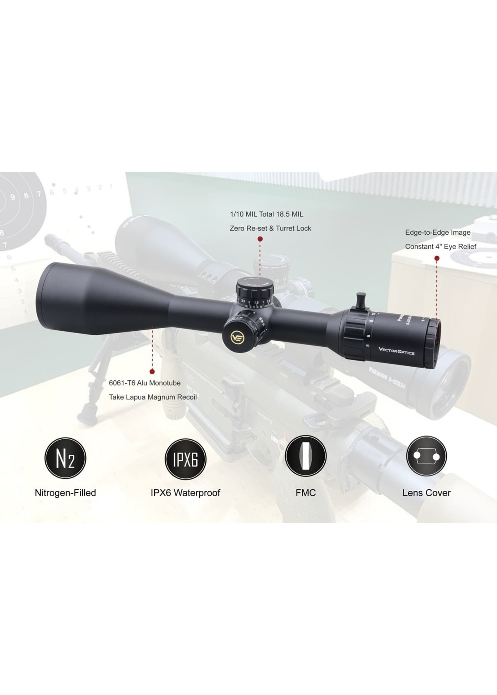 Vector Optics Vector Optics Paragon HD Series SFP  Riflescope  Gen2