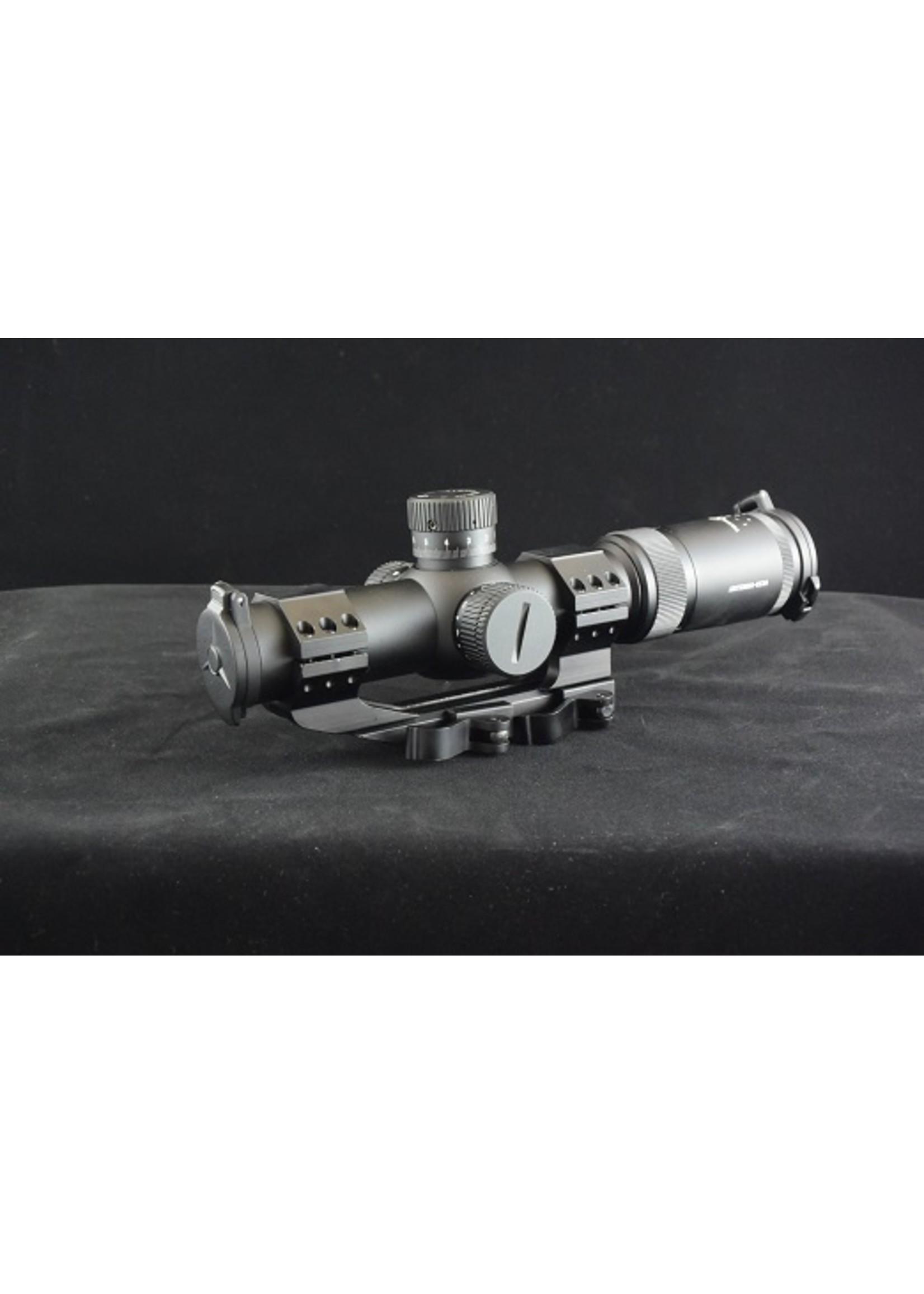 Vector Optics Vector Optics Artemis 1-8x26 FFP CQB/DMR Scope Illuminated ZeroStop MRAD 35mmTube