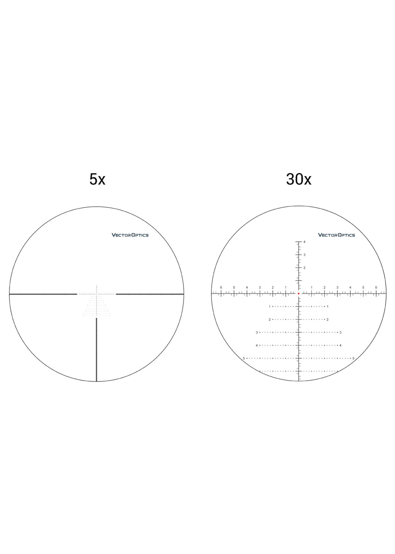 Vector Optics Vector Optics  Continental Tactical FFP series  Riflescope with 34mm Tube /Zero stop/German Schott ED HD Glass