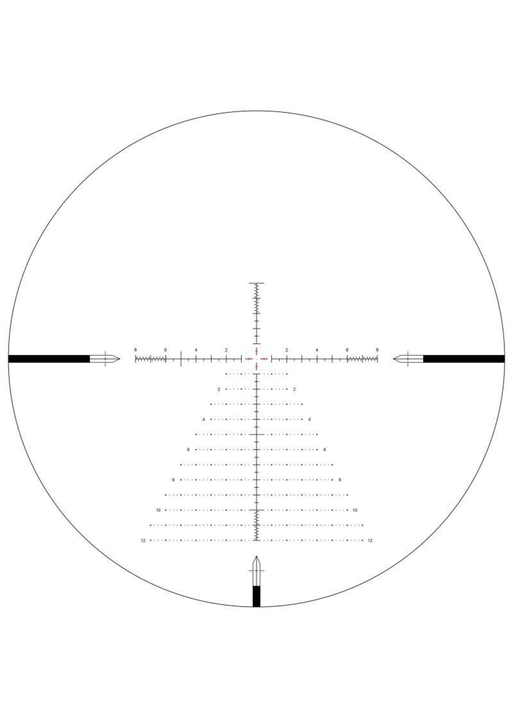 Arken Arken Optics USA SH4 6-24X50 GEN2 FFP MIL VPR Illuminated Reticle with Zero Stop - 34mm Tube