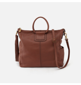 Hobo Sheila Handbag in  Toffee