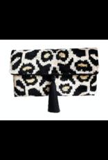 Wolf & Rose Jewelry Leopard Silk Bag Olivia