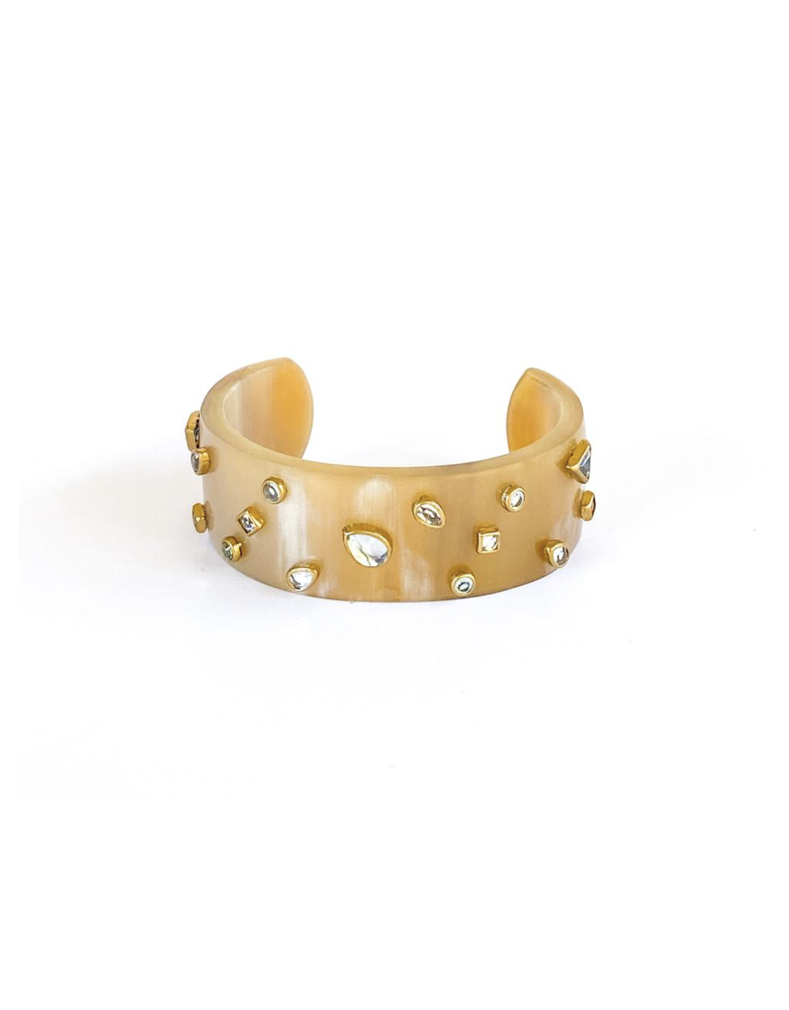 Wolf & Rose Jewelry Cuff Horn W/ Jewels