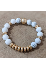 Bo B.K.  Designs Bracelet Stone Hematite