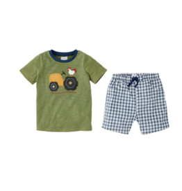 Mud Pie Short Set Boy Farmhouse