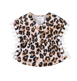 Mud Pie Leopard Cover Up