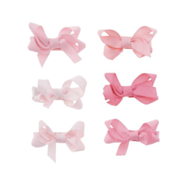 Mud Pie Bitty Bows Pink