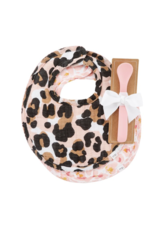 Mud Pie Bibs & Spoon Leopard Muslin