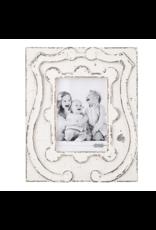 Mud Pie Frame 5x7 Antiqued Crest