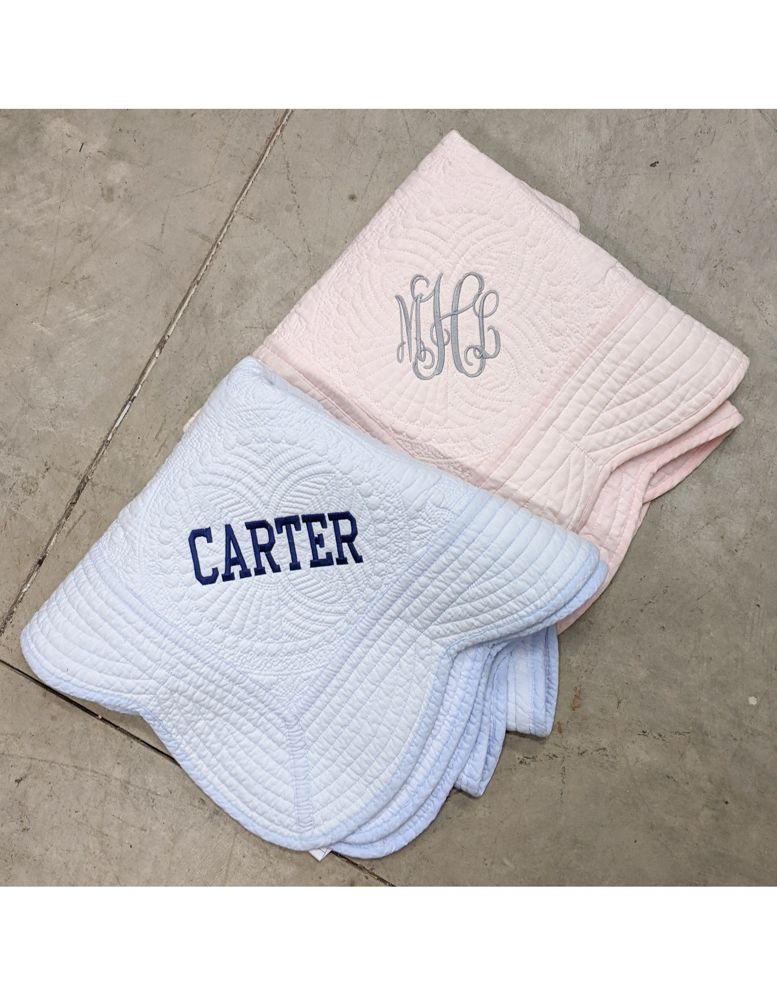 Monograms America Baby Quilts