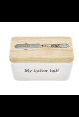 Mud Pie Butter Storage Dish