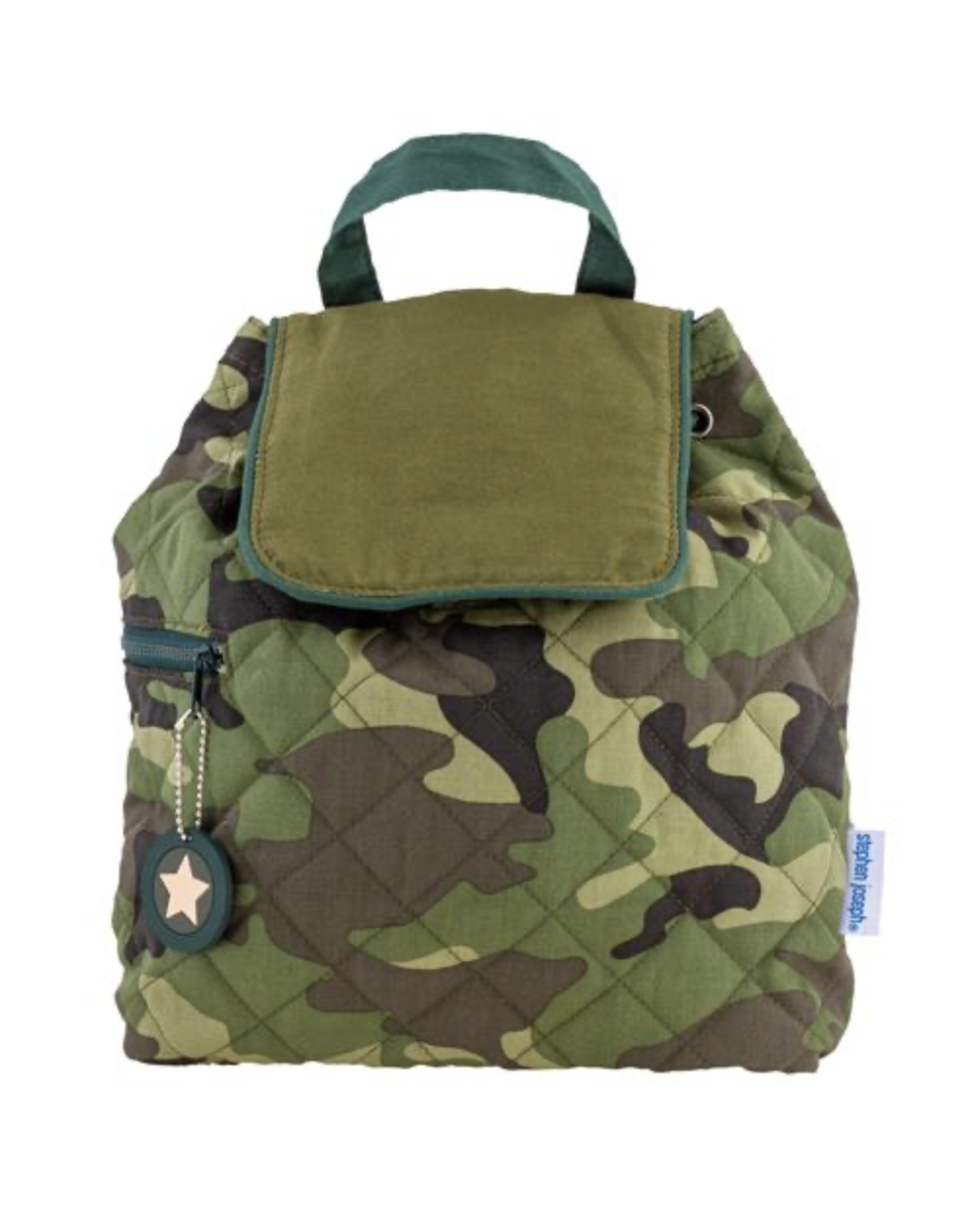 Stephen Joseph Backpack Quilted Camo S20