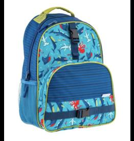 Stephen Joseph Backpack Shark All Over
